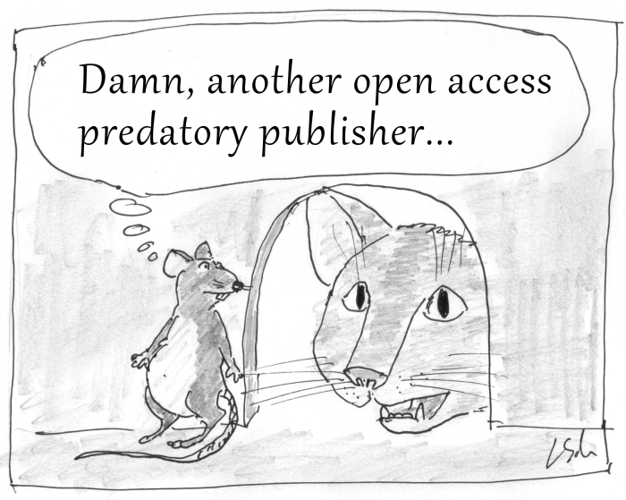 Predatory publisher