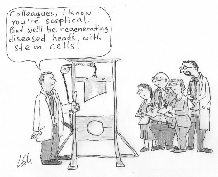 Regenerating heads