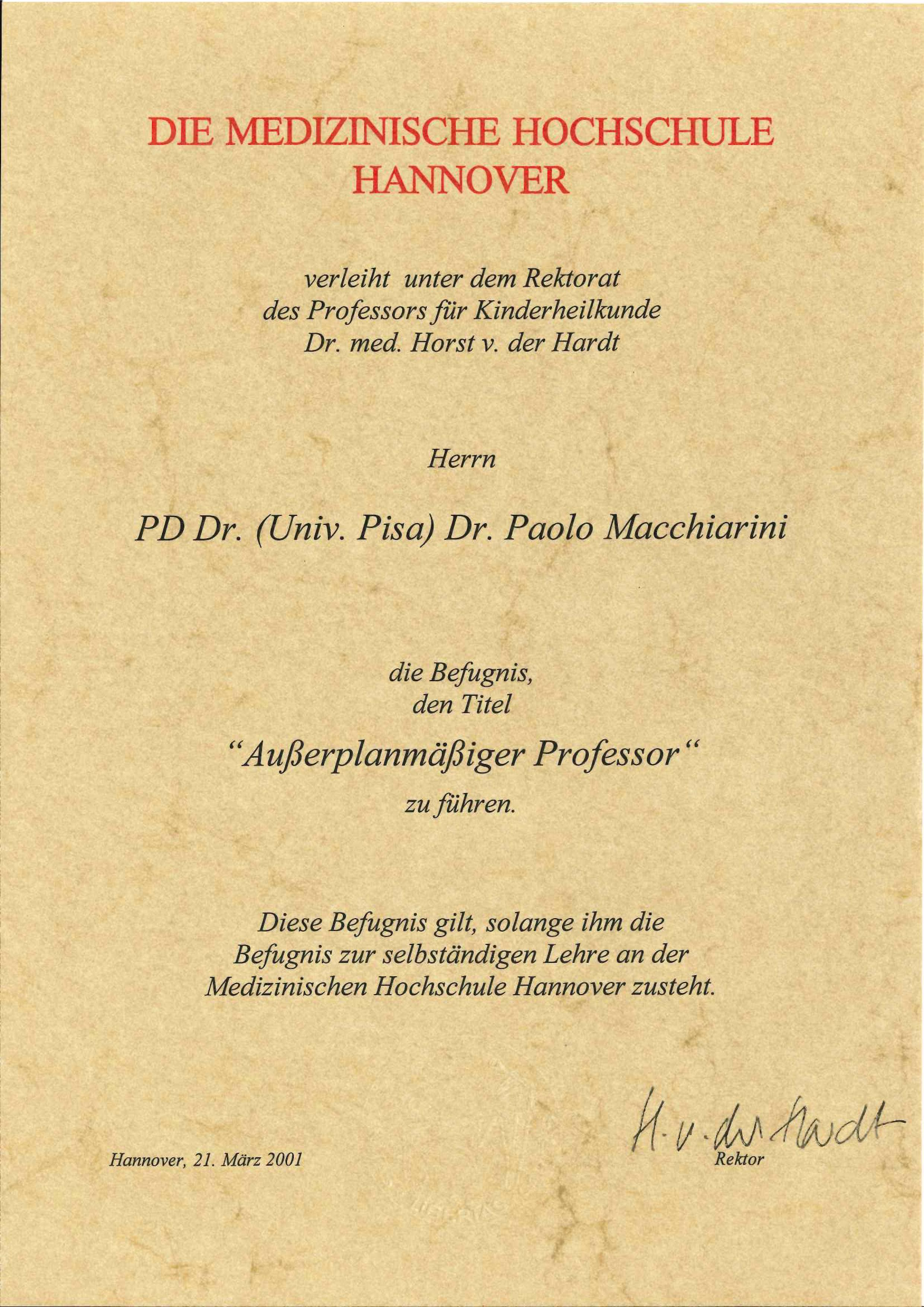dissertation mhh 2013