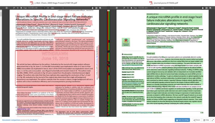 PLOS One publishes near-copy of retracted JBC paper, sans coauthor CarloCroce