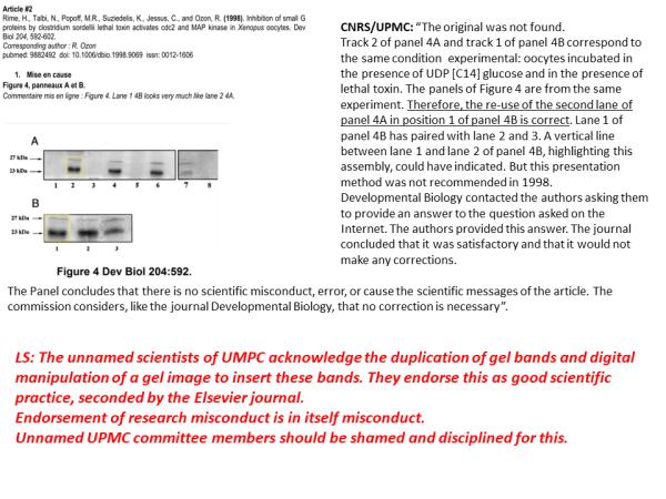 Pravda of Jessus report, CNRS Politburo scared of own people