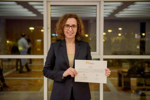 Zombie scientist Sonia Melo awarded by AstraZeneca