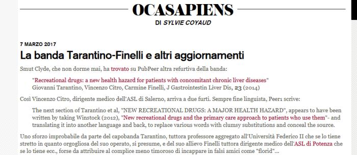 Tarantino & Finelli: i plagiatori diNapoli