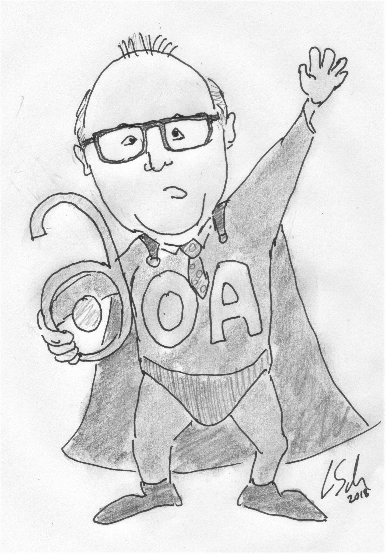 Bürostuhl comic  Bremen Rector Bernd Scholz-Reiter, a hero of Open Access? – For ...