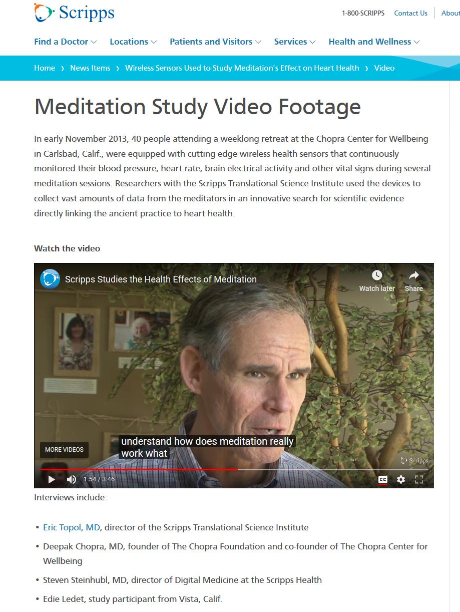 guilty pleasures of meditating with deepak chopra – for better science