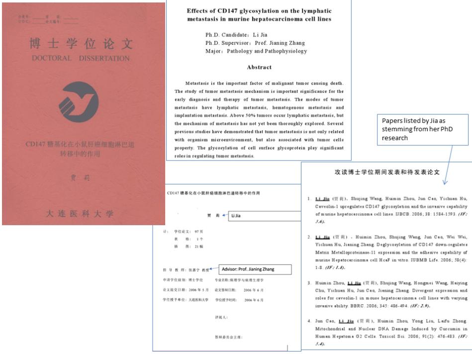 Li Jia PhD