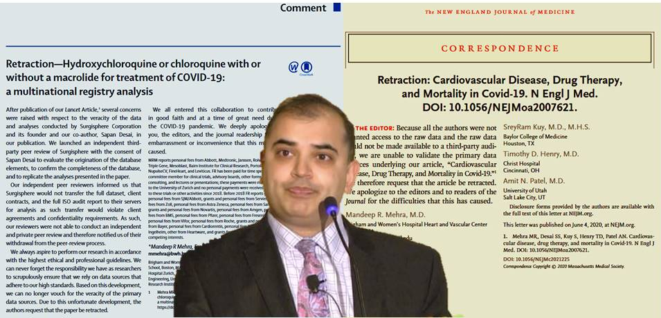Would Lancet and NEJM retractions happen if not for COVID-19 and ...